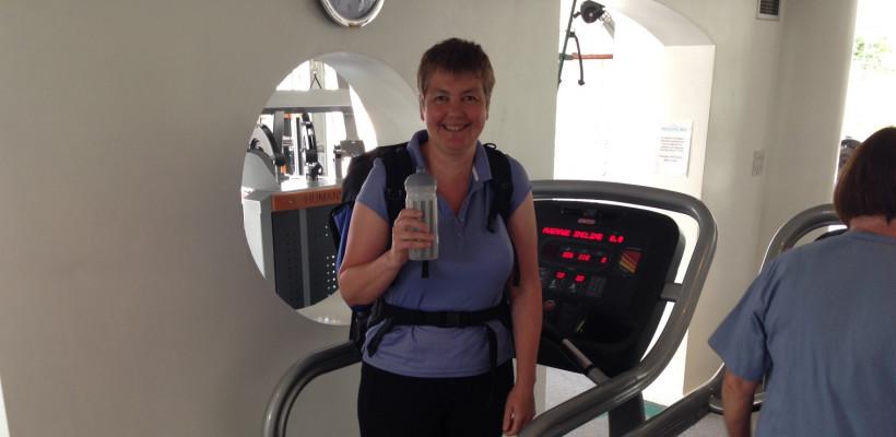 Caroline's Alpine adventure for charity